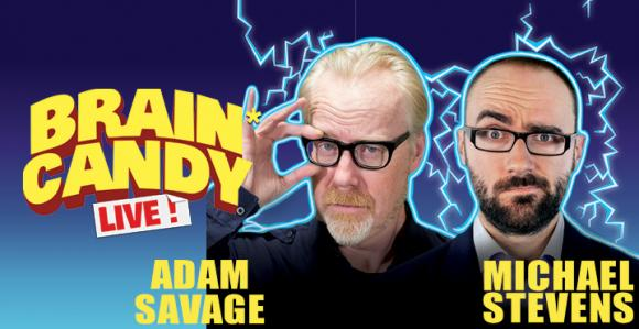 The Brain Candy Live Tour: Adam Savage & Michael Stevens at Des Monies Civic Center