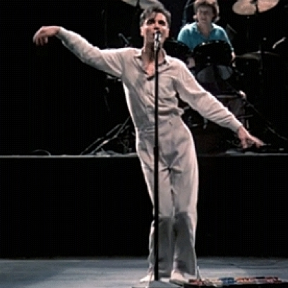 David Byrne at Des Monies Civic Center
