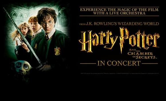 Harry Potter and The Chamber of Secrets In Concert at Des Monies Civic Center