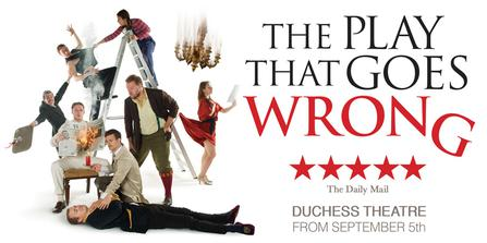 The Play That Goes Wrong  at Des Monies Civic Center