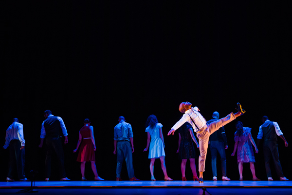 Dorrance Dance at Des Monies Civic Center