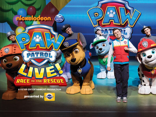 Paw Patrol Live at Des Monies Civic Center