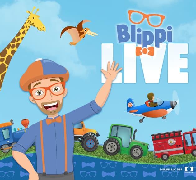 Blippi Live at Des Monies Civic Center