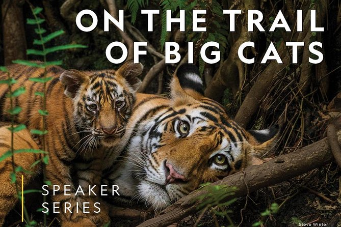 National Geographic Live: On The Trail of Big Cats at Des Monies Civic Center