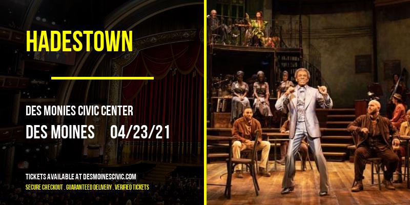 Hadestown [POSTPONED] at Des Monies Civic Center