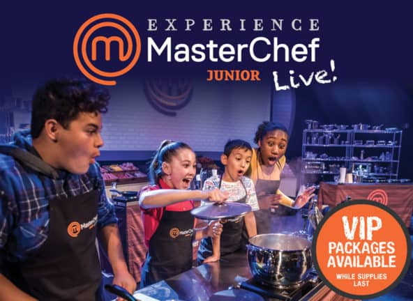Master Chef Junior Live! [CANCELLED] at Des Monies Civic Center